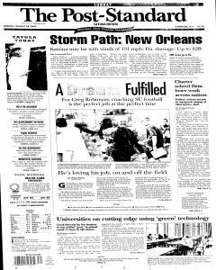 Syracuse Post Standard, August 28, 2005, Page 207