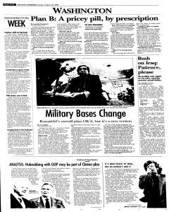Syracuse Post Standard, August 28, 2005, Page 272