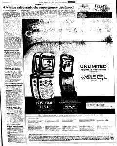Syracuse Post Standard, August 28, 2005, Page 9