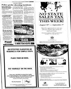 Syracuse Post Standard, August 28, 2005, Page 23