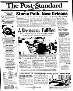 Syracuse Post Standard, August 28, 2005, Page 235