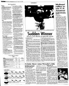 Syracuse Post Standard, August 29, 2005, Page 20