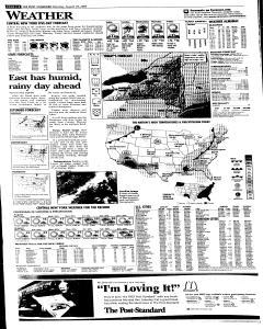 Syracuse Post Standard, August 29, 2005, Page 26