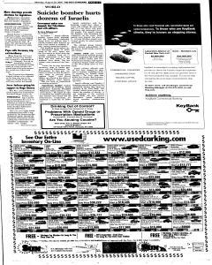 Syracuse Post Standard, August 29, 2005, Page 3