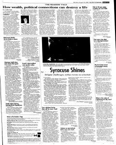 Syracuse Post Standard, August 29, 2005, Page 9