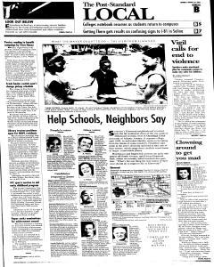 Syracuse Post Standard, August 29, 2005, Page 11