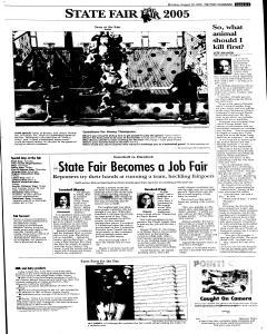 Syracuse Post Standard, August 29, 2005, Page 13