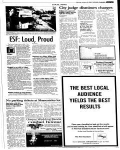 Syracuse Post Standard, August 29, 2005, Page 15