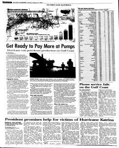 Syracuse Post Standard, August 30, 2005, Page 10