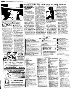 Syracuse Post Standard, August 30, 2005, Page 38
