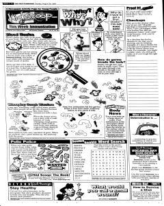 Syracuse Post Standard, August 30, 2005, Page 52