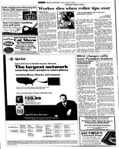 Syracuse Post Standard, August 30, 2005, Page 56