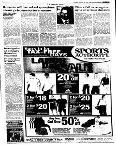 Syracuse Post Standard, August 30, 2005, Page 7