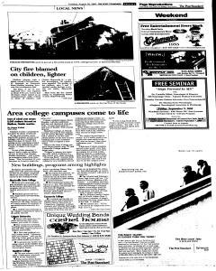 Syracuse Post Standard, August 30, 2005, Page 19