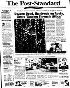 Syracuse Post Standard, August 30, 2005, Page 75
