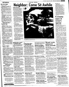 Syracuse Post Standard, August 30, 2005, Page 95