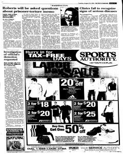Syracuse Post Standard, August 30, 2005, Page 103
