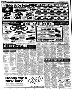 Syracuse Post Standard, August 31, 2005, Page 50