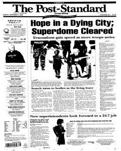 Syracuse Post Standard, September 04, 2005, Page 204