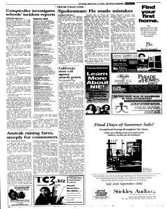 Syracuse Post Standard, September 10, 2005, Page 3
