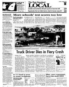 Syracuse Post Standard, September 10, 2005, Page 11