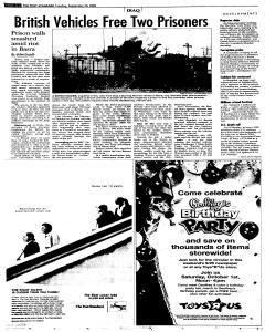 Syracuse Post Standard, September 20, 2005, Page 4
