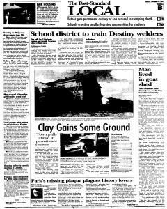 Syracuse Post Standard, September 20, 2005, Page 15