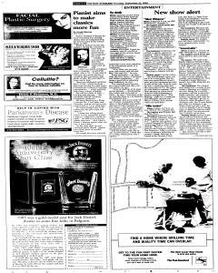Syracuse Post Standard, September 22, 2005, Page 42