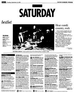 Syracuse Post Standard, September 22, 2005, Page 64