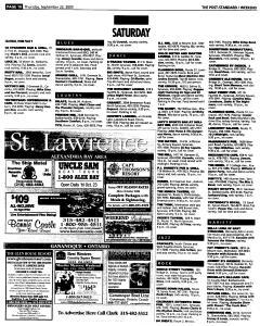 Syracuse Post Standard, September 22, 2005, Page 66