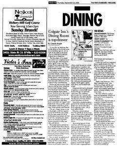 Syracuse Post Standard, September 22, 2005, Page 74