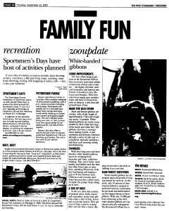 Syracuse Post Standard, September 22, 2005, Page 86