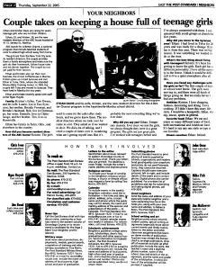 Syracuse Post Standard, September 22, 2005, Page 90