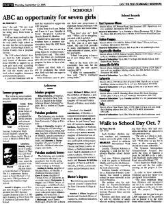 Syracuse Post Standard, September 22, 2005, Page 106