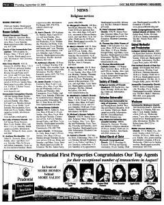 Syracuse Post Standard, September 22, 2005, Page 110