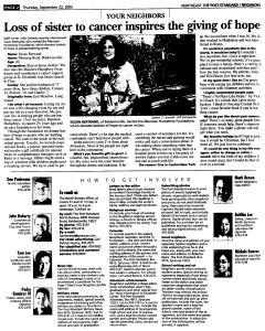 Syracuse Post Standard, September 22, 2005, Page 122
