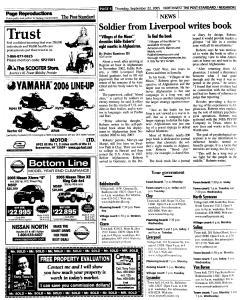 Syracuse Post Standard, September 22, 2005, Page 162