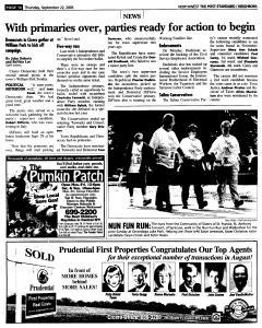 Syracuse Post Standard, September 22, 2005, Page 166