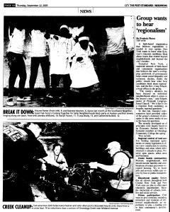 Syracuse Post Standard, September 22, 2005, Page 202