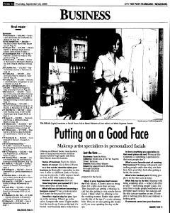 Syracuse Post Standard, September 22, 2005, Page 206