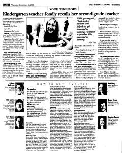 Syracuse Post Standard, September 22, 2005, Page 225