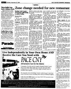 Syracuse Post Standard, September 22, 2005, Page 239
