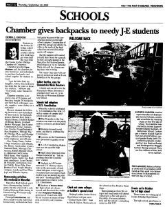 Syracuse Post Standard, September 22, 2005, Page 244