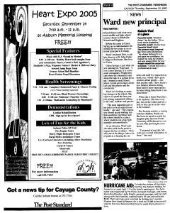 Syracuse Post Standard, September 22, 2005, Page 328
