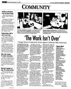 Syracuse Post Standard, September 22, 2005, Page 336