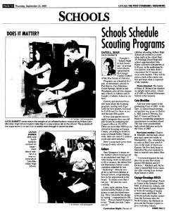 Syracuse Post Standard, September 22, 2005, Page 338