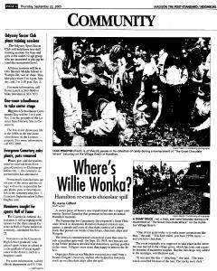 Syracuse Post Standard, September 22, 2005, Page 350
