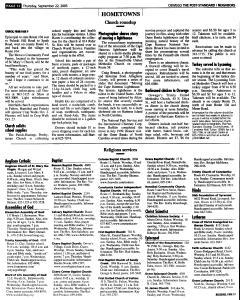 Syracuse Post Standard, September 22, 2005, Page 372