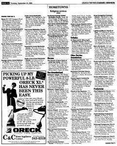 Syracuse Post Standard, September 22, 2005, Page 374