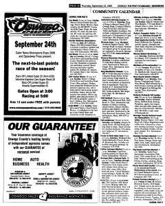 Syracuse Post Standard, September 22, 2005, Page 386